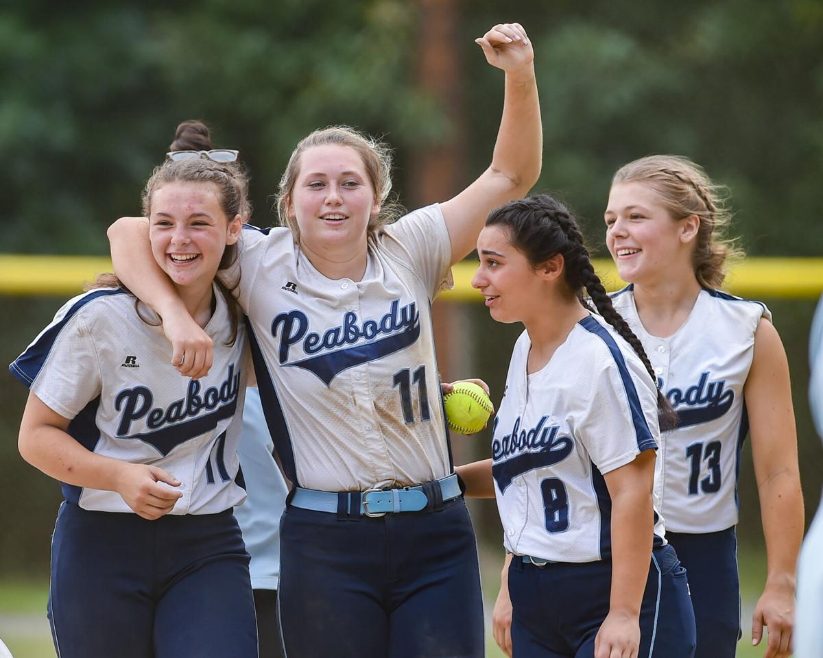 Peabody varsity softball state tournament playoff game