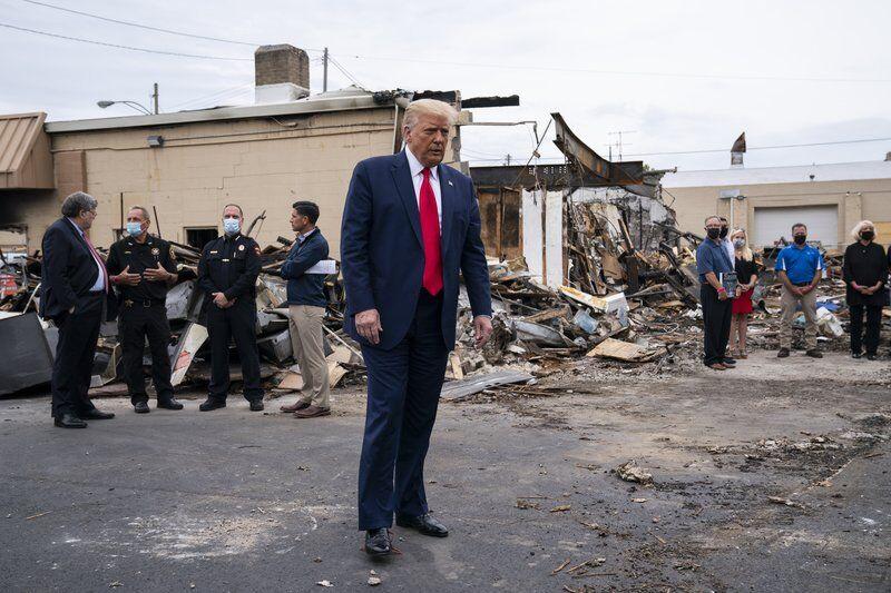 Trump heads to Michigan amid Woodward book fallout