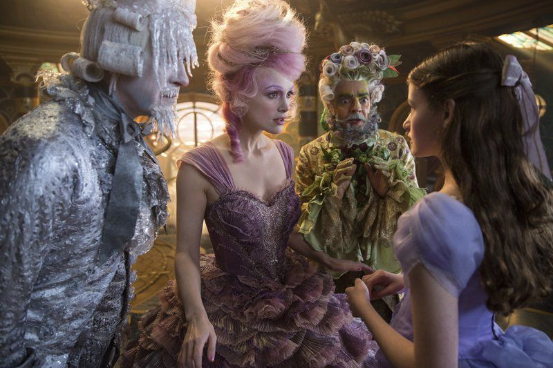 'The Nutcracker and the Four Realms' falls flat