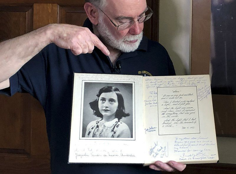 'He was an optimist': Holocaust Museum digitizing letters from Anne Frank's father