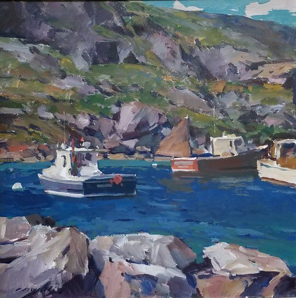 An enduring legacy: Rockport Art Association spotlights Gloucester master painter Charles Movalli