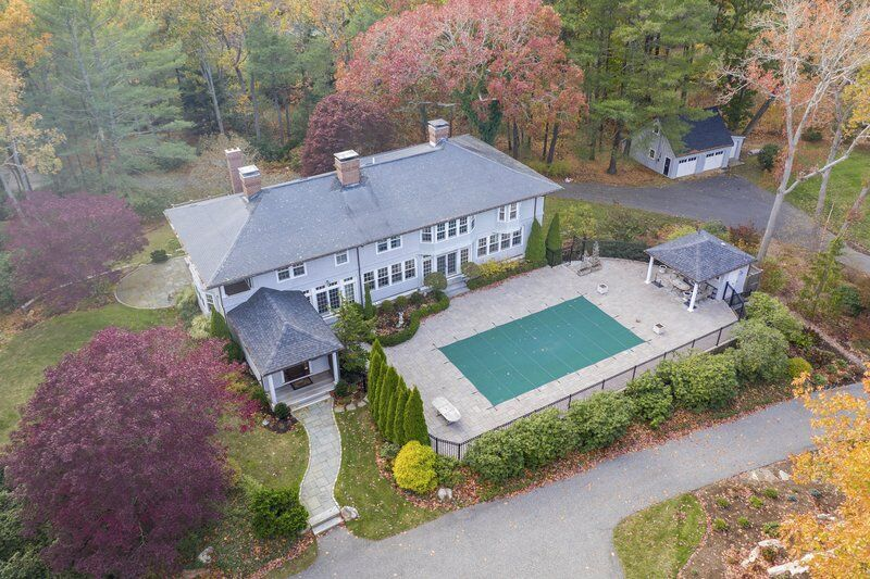Stunning Beverly Farms estate exudes elegance and grace