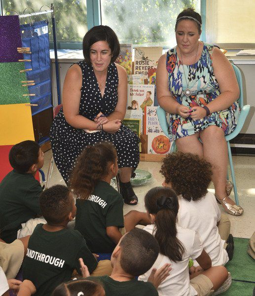 Charter School Puts College Spin On Elementary Lessons