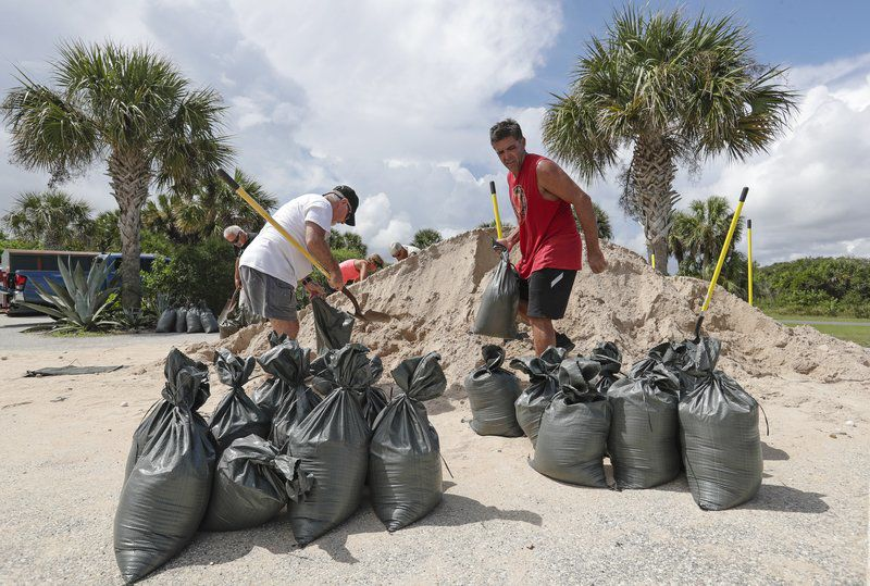 Hurricane puts 10 million in the crosshairs in Florida