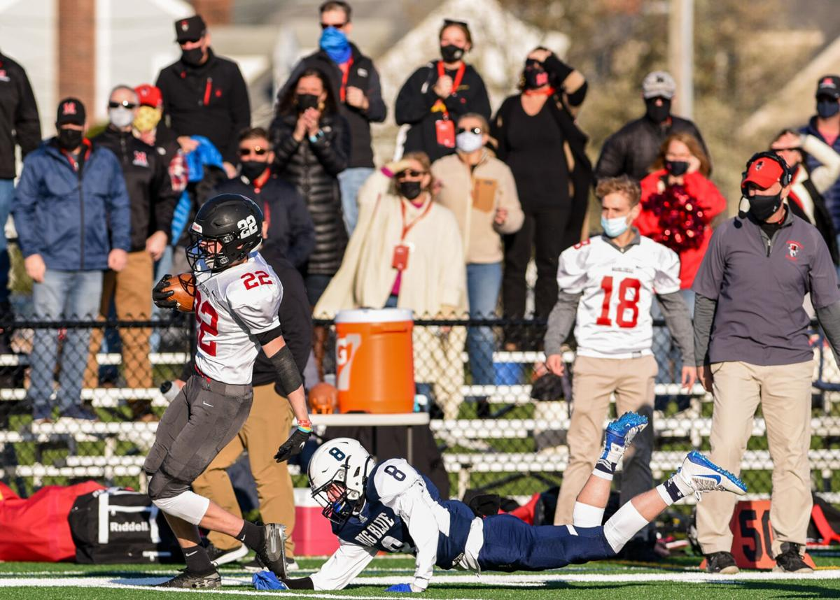 Marblehead at Swampscott football game