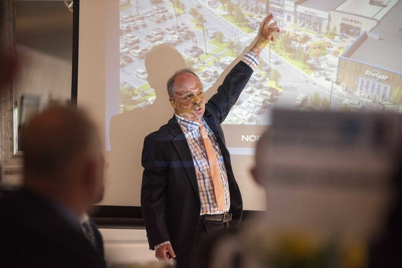Mall plans take center stage at regional tourism breakfast