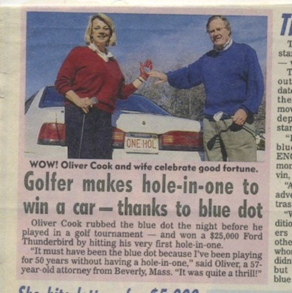 Column: Hole-in-one becomes a tabloid tale