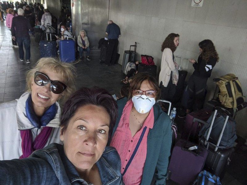 Writers trapped in Guatemala airport amid pandemic