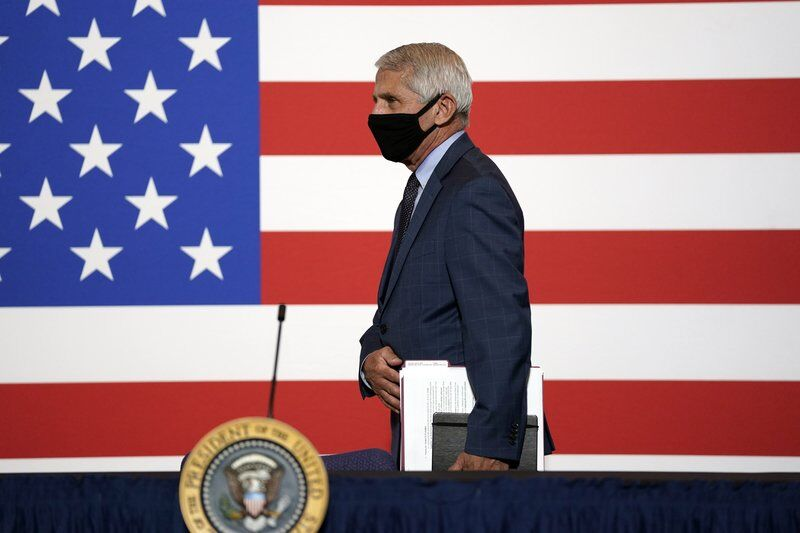 Fauci to tell House panel 'unclear' how long pandemic lasts
