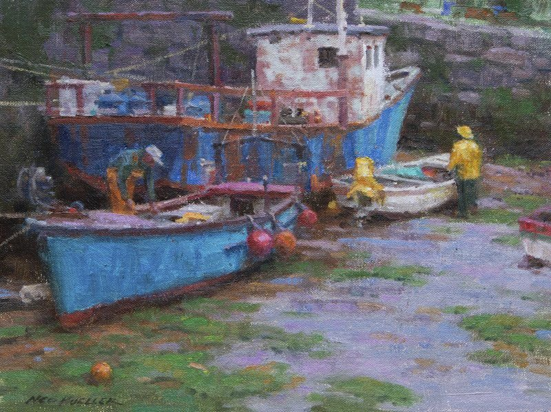 In living color: Artists flock to Cape Ann for national competition and festival