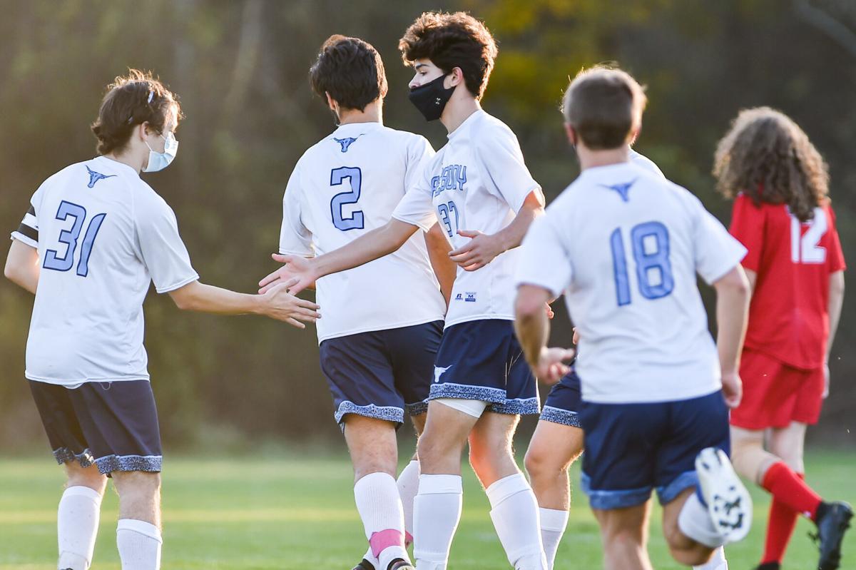 Peabody at Saugus boys varsity soccer