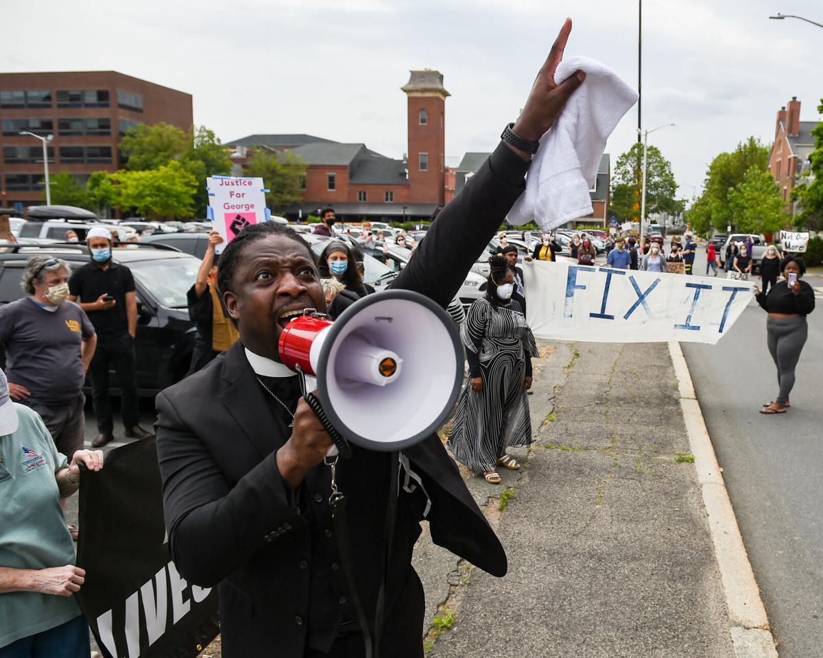 Black Lives Protest car parade takes place in Salem.