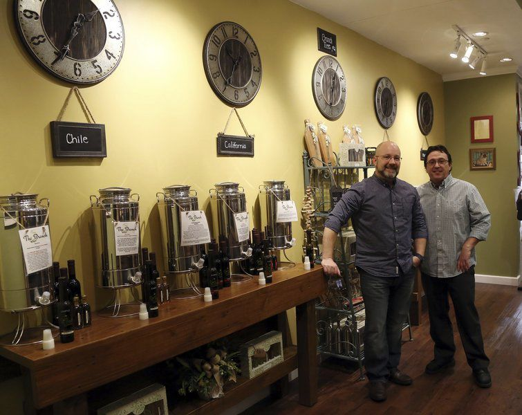 Oil and vinegar tasting bars are a growing trend on the North Shore