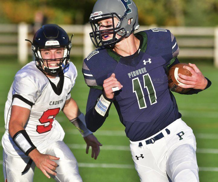 CRIMSON CALLING: Pingree's Dowd commits to Harvard gridiron