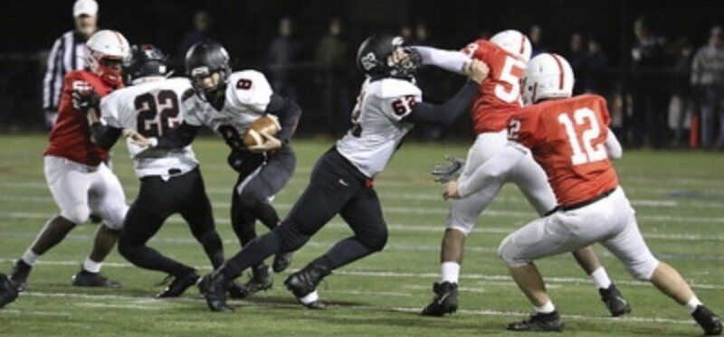 POWERFUL PAIR: Marblehead captains Paquette, Monahan ticketed for college football