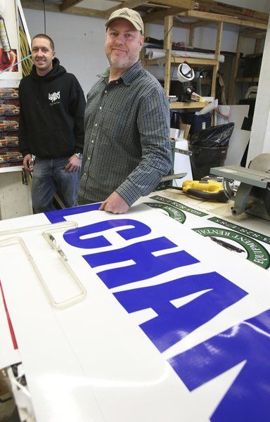 Peabody Sign Co. owner knows his signs