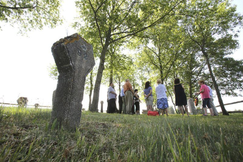 Ceremony at former Danvers State Hospital honors patients buried in numbered graves