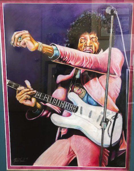 Rocking the canvas: Newburyport native showcases his musically inspired portraits