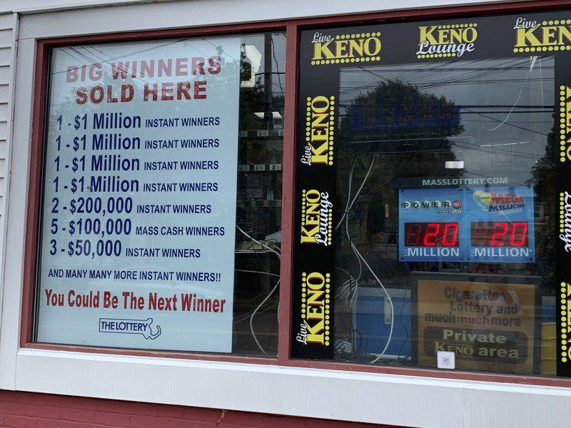 Lottery lightning strikes againfor Danvers store owner
