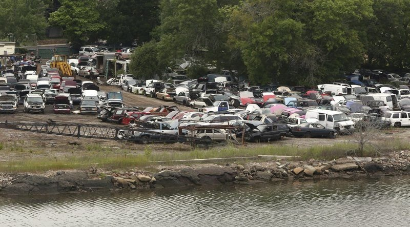 Salvage yard targeted for redevelopment