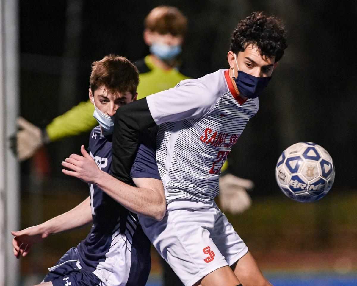 St. John's Prep playoff soccer game at home