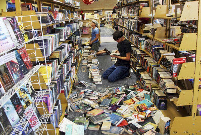 California towns survey quake damage amid more aftershocks