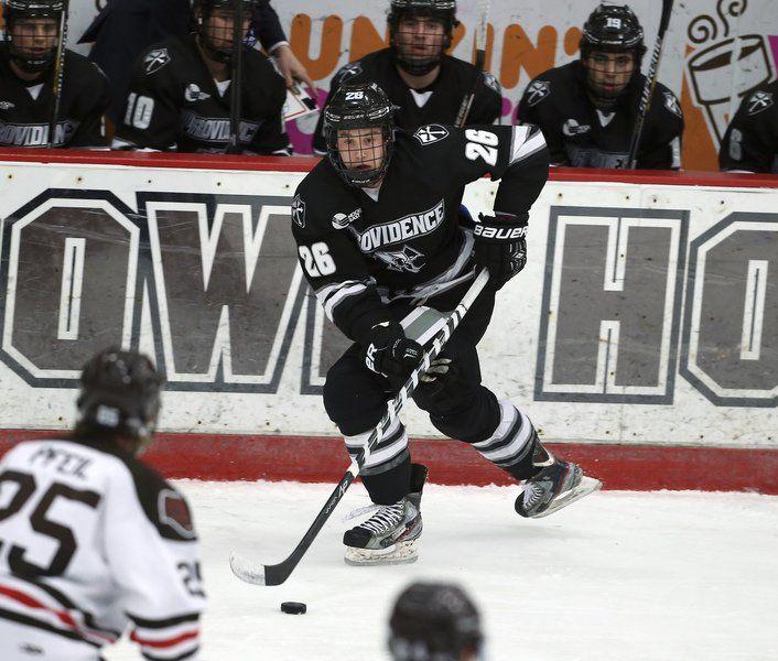 Ex-SJP star Pinho has terrific freshman season for Providence heading into Frozen Four