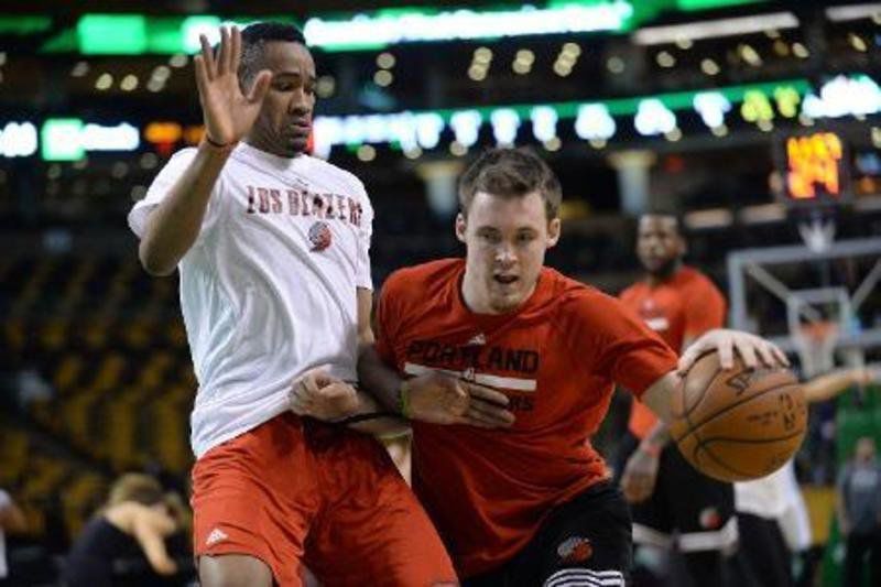 With a year under his belt, Connaughton looking for improvement with NBA's Trail Blazers