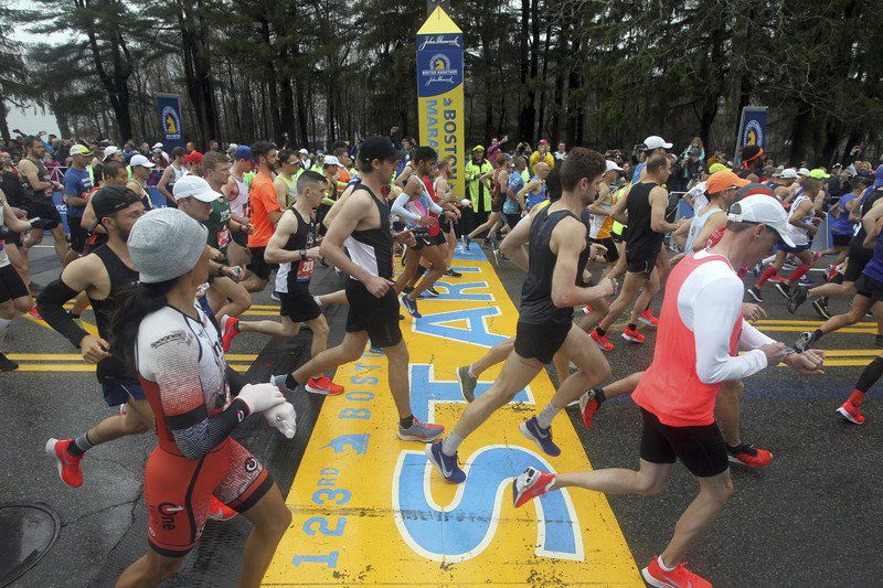 Sunny Marathon Monday a success for locals