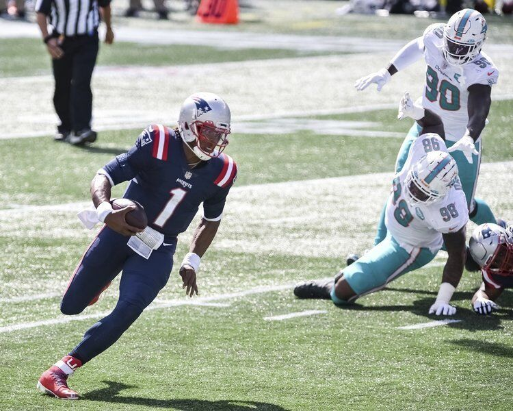 A whole new look: Patriots maximize Newton's talents in new look offense