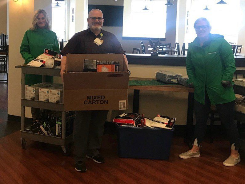 Essex Tech donates thousands of medical supplies to hospitals, sheriff's department