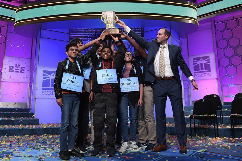 Elite 8: National Spelling Bee too easy for octet of champs