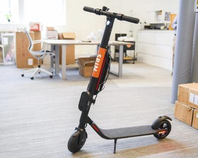 City OKsscooter share