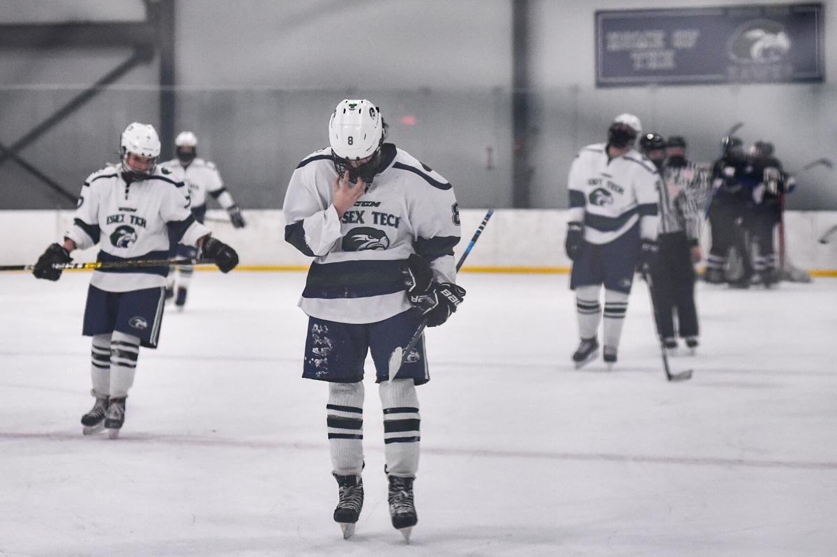 Essex Tech boys varsity hockey vs. Shawsheen