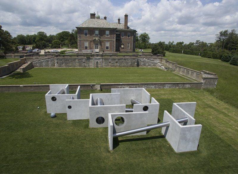Former maze at Crane Estate rebuilt as work of art | Lifestyles ...