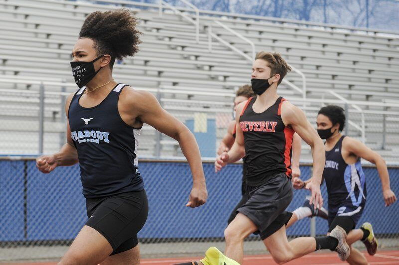 Peabody boys, girls tracksters earn narrow wins over Beverly