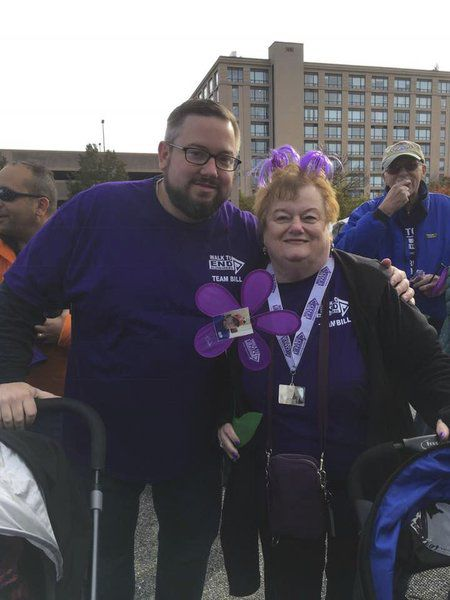 Peabody goes purple to raise Alzheimer's awareness