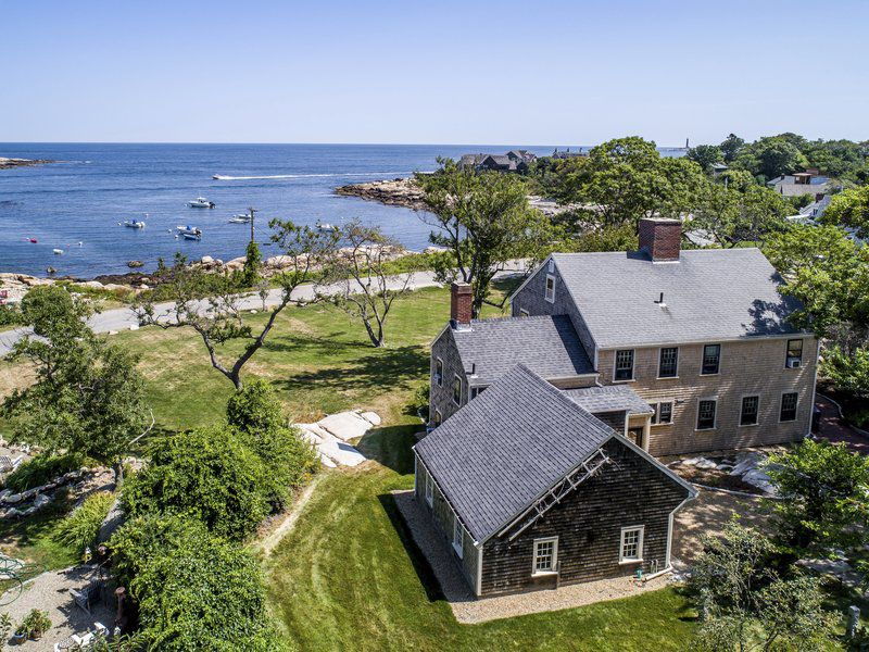 Seaside living at its finest in Rockport 'cottage'