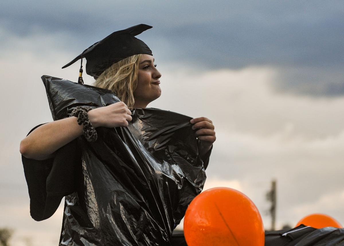 Ipswich High School graduation