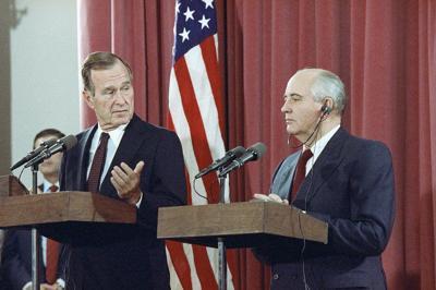 Column: George H.W. Bush, international diplomacy expert