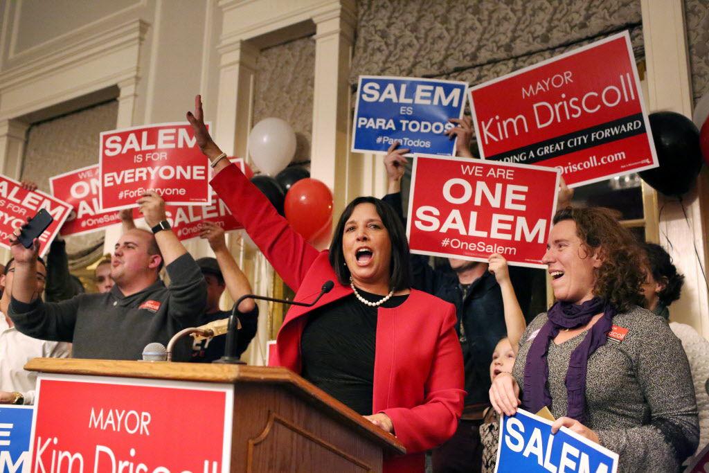 Election night in Salem