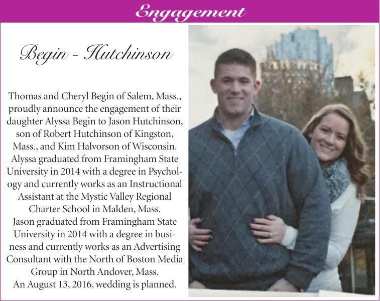 Begin-Hutchinson Engagement