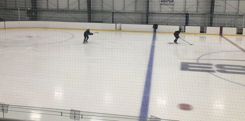 DEEP FREEZE: Re-opened youth hockey at Essex Sports Center thriving