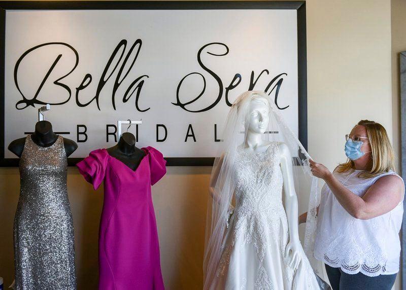 Fitting room coronavirus closures make it hardfor bridal, menswear shops