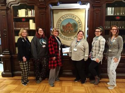 PJ day at the Peabody Institute
