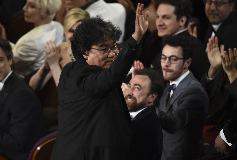 Pitt, 'Parasite' win Oscars