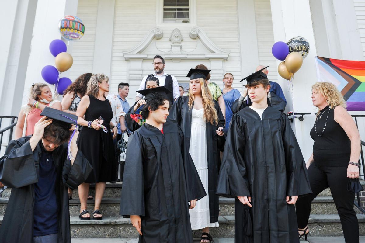 2021 Northshore Recovery High School graduation
