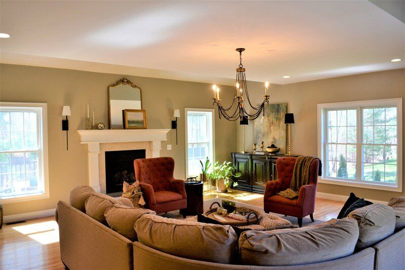 Stately Rowley Colonial is even more than meets the eye