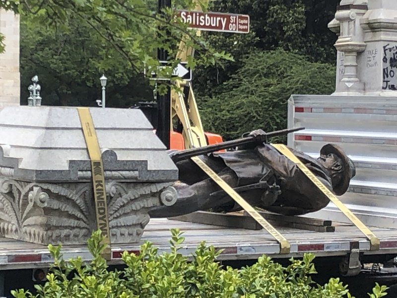 While Confederate statues come down, other symbols targeted