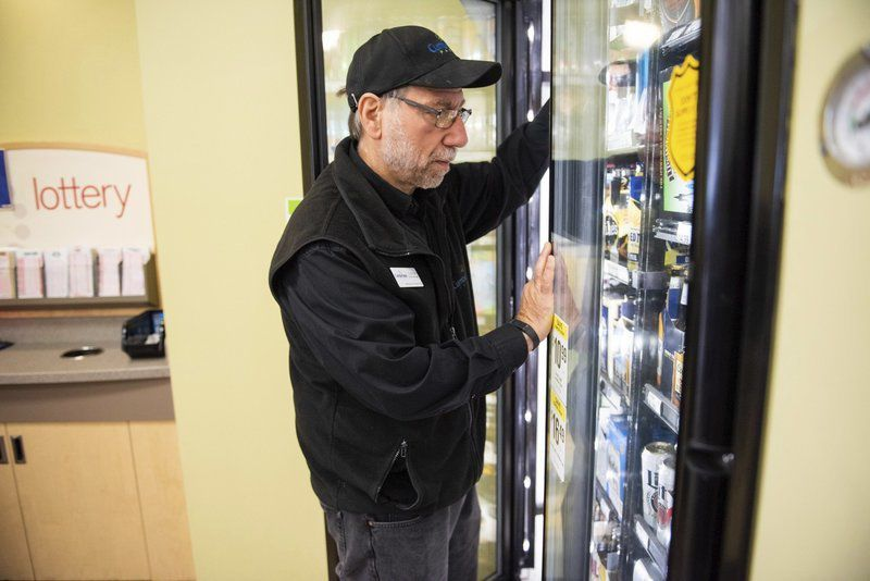 Package stores dig in for fight over ballot question
